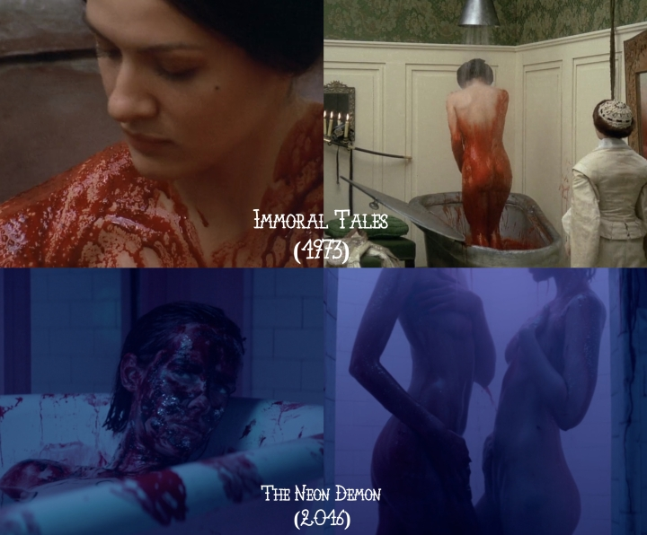 Immoral Tales (1973) v. The Neon Demon (2016)