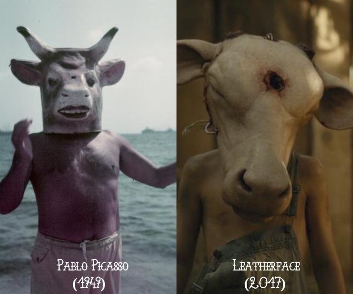 Pablo Picasso (1949) v. Leatherface (2017)