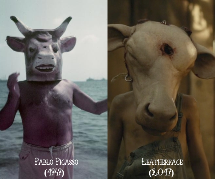 Pablo Picasso (1949) v. Leatherface (2017)