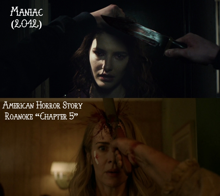 "Maniac (2012) v. American Horror Story ""Roanoke"""