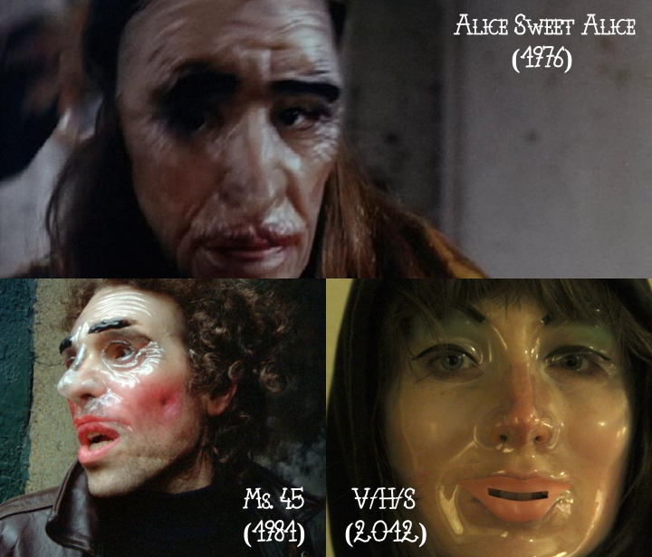 Alice Sweet Alice (1976) v. Ms. 45 (1981) v. V/H/S (2012)