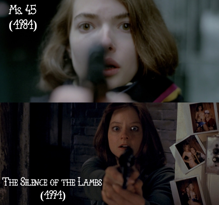 Ms. 45 (1981) v. The Silence of the Lambs (1991)