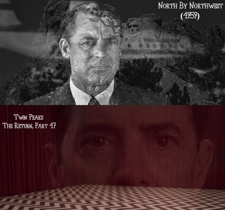 North By Northwest (1959) v. Twin Peaks: The Return