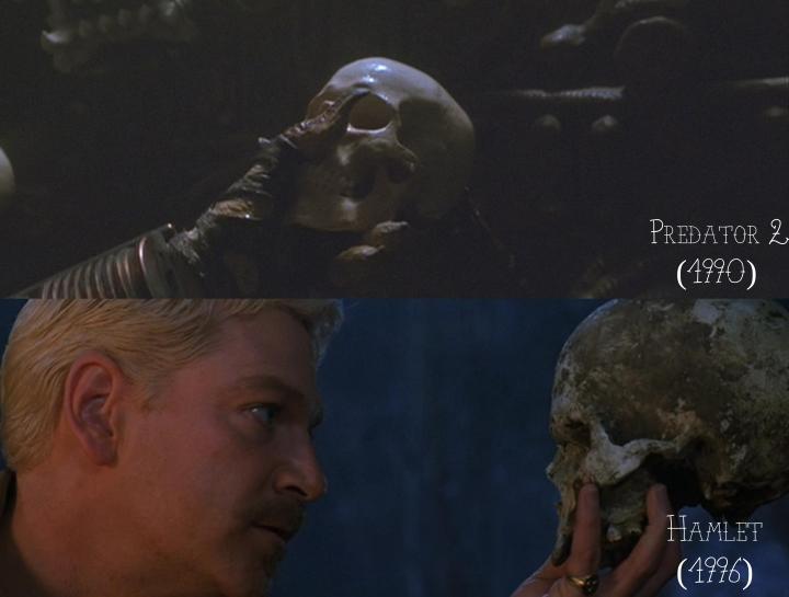 Predator 2 (1990) v. Hamlet (1996)