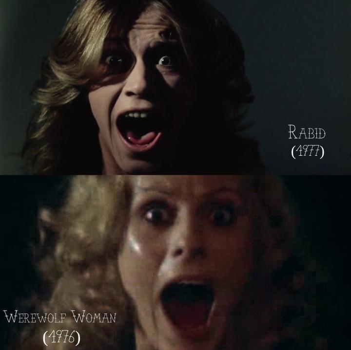 Rabid (1977) v. Werewolf Woman (1976)