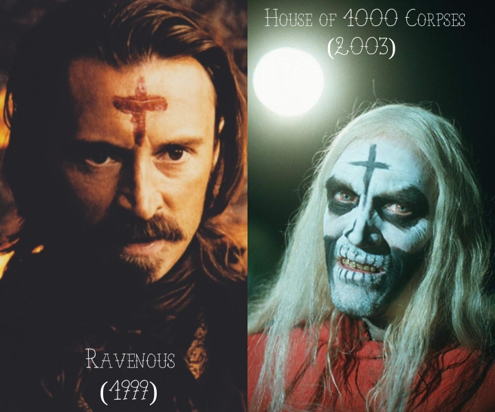 Ravenous (1999) v. House of 1000 Corpses (2003)