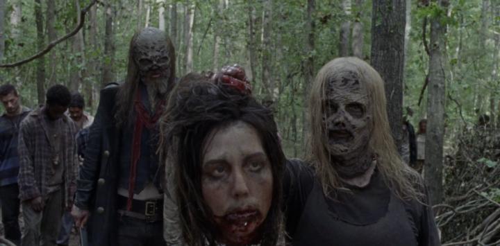 "The Walking Dead 9x12 ""Guardians"" - Samantha Morton & Ryan Hurst"