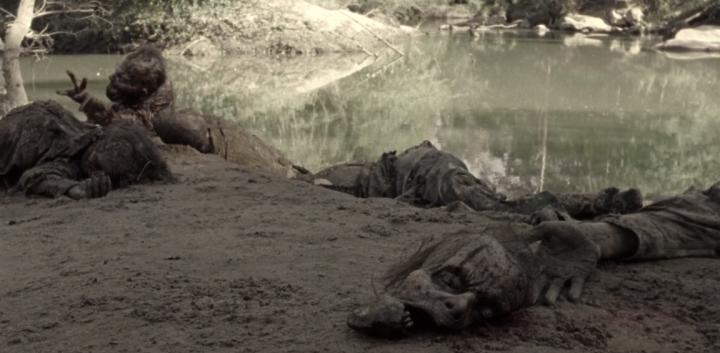 """The Walking Dead 9x14 """"Scars"""" - Zombie Face"""