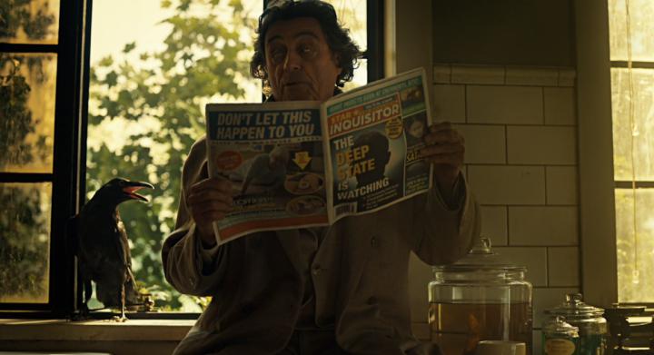 """American Gods 2x03 """"Muninn"""" - Ian McShane"""