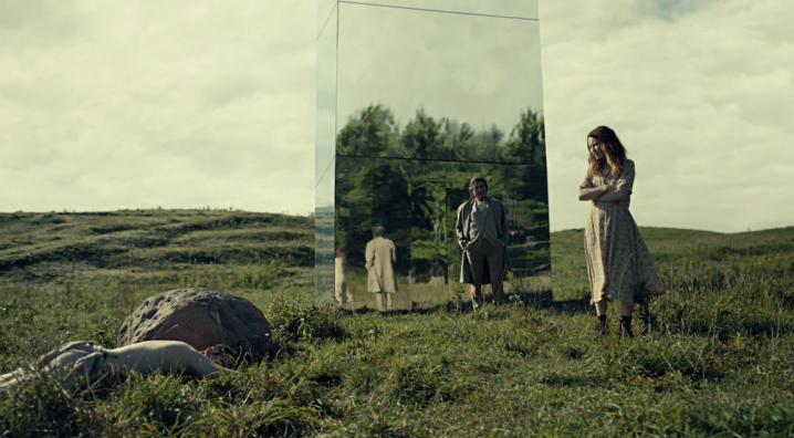 "American Gods 2x03 ""Muninn"" - Ian McShane & Emily Browning"