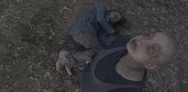 "The Walking Dead 9x15 ""The Calm Before"" - Samantha Morton"