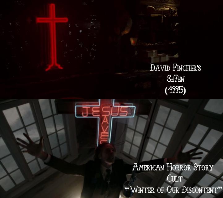 """Se7e (1995) v. American Horror Story """"Cult"""""""