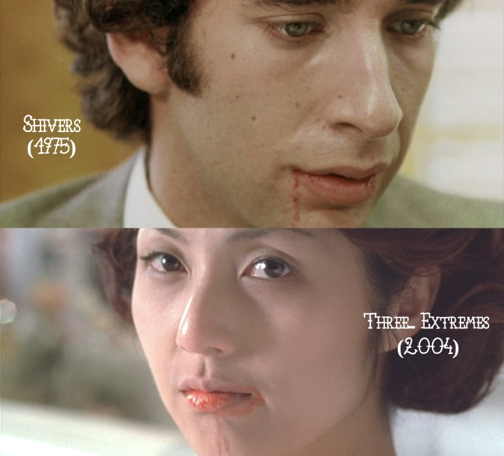 Father Son Holy Gore: Shivers (1975) v. Three... Extremes (2004)