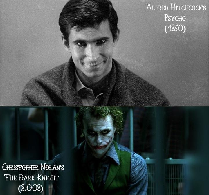 Psycho (1960) v. The Dark Knight (2008)