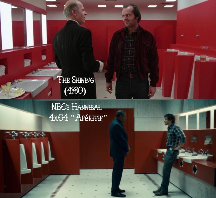 The Shining (1980) v. NBC's Hannibal