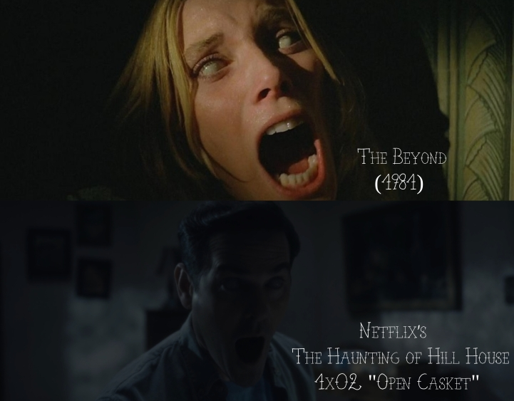 The Beyond (1981) v. The Haunting of Hill House (2018)