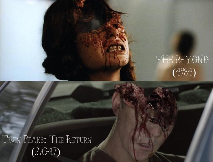 Lucio Fulci's The Beyond (1981) v. David Lynch's Twin Peaks: The Return (2017)