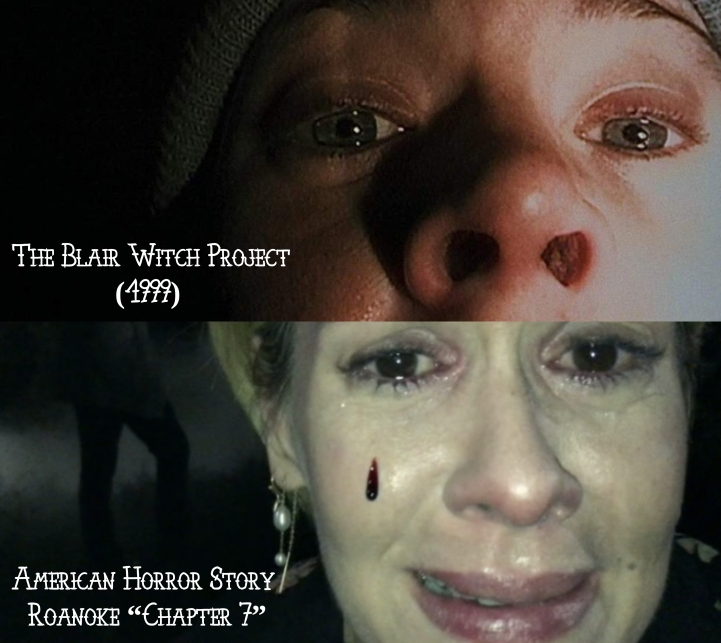 "The Blair Witch Project (1999) v. American Horror Story ""Roanoke"""