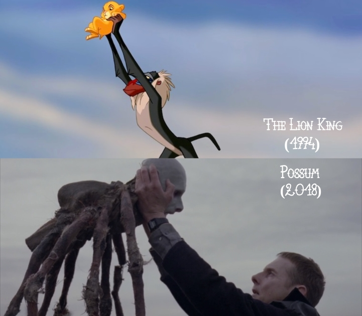 Father Son Holy Gore: The Lion King (1994) v. Possum (2018)