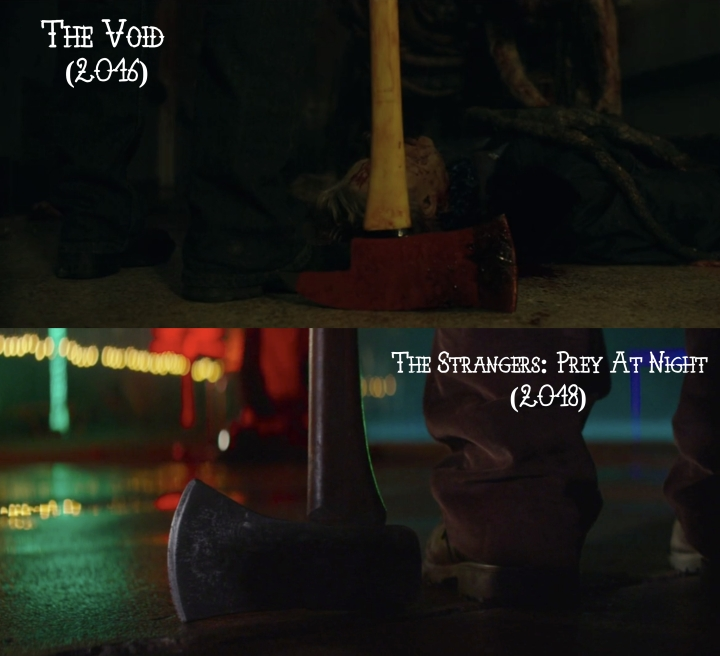 Father Son Holy Gore: The Void (2016) v. The Strangers: Prey at Night (2018)