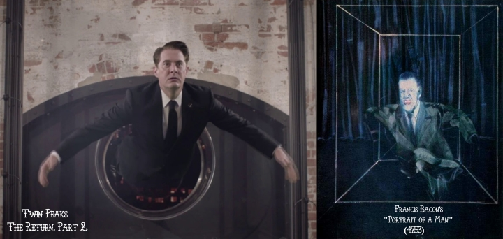 Twin Peaks: The Return v. Francis Bacon
