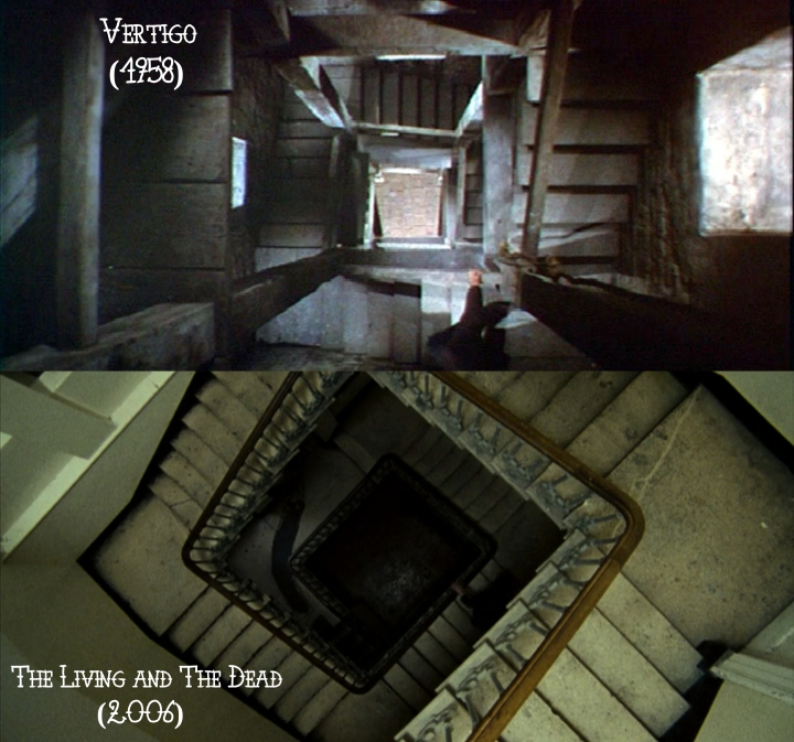 Father Son Holy Gore: Vertigo (1958) v. The Living and The Dead (2006)