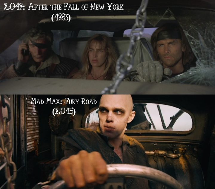 2019: After the Fall of New York (1983) v. Mad Max: Fury Road (2015)