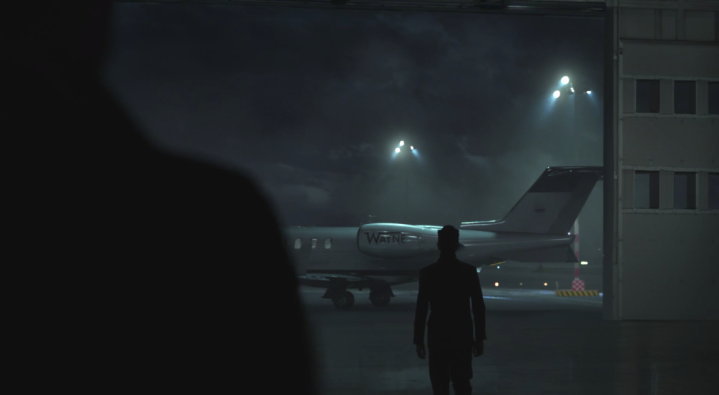 Father Son Holy Gore - Gotham - Bruce Wayne's Plane