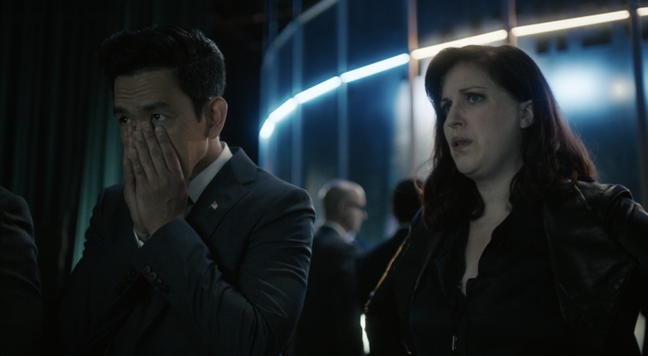 Father Son Holy Gore - The Twilight Zone - John Cho and Allison Tolman