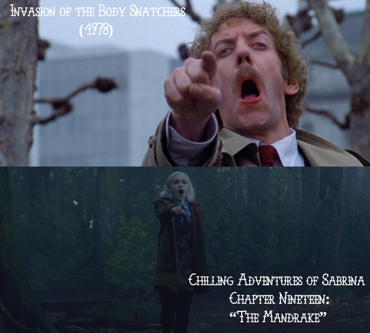 Father Son Holy Gore: Invasion of the Body Snatchers v. Chilling Adventures of Sabrina