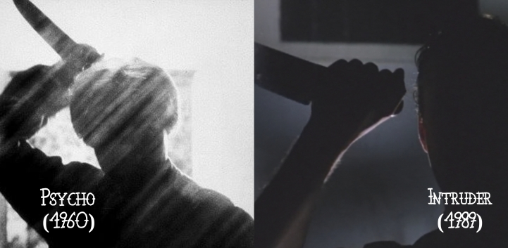 Psycho (1960) v. Intruder (1989)