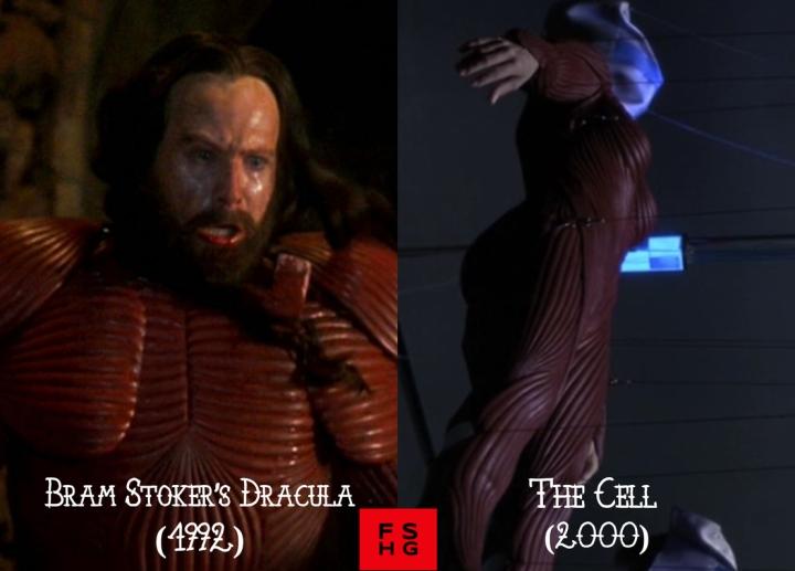 Bram Stoker's Dracula (1992) v. The Cell (2000)