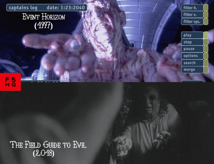 Event Horizon (1997) v. The Field Guide to Evil (2018)