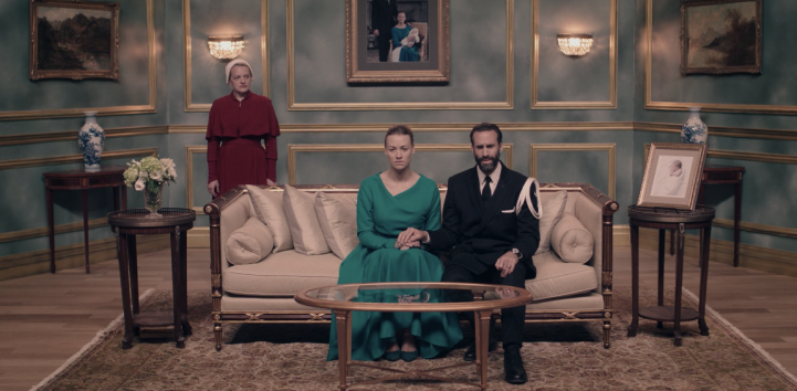 Father Son Holy Gore - The Handmaid's Tale - The Waterfords Address the World