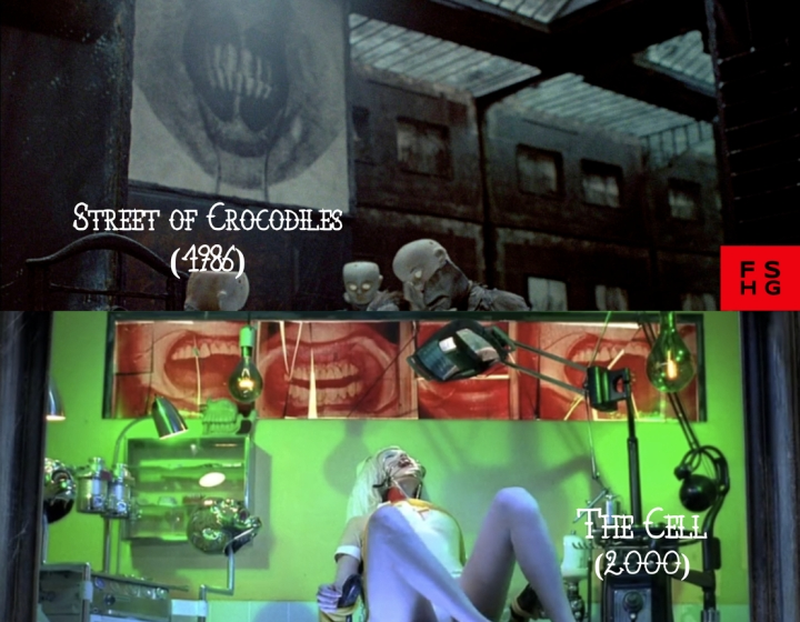 Street of Crocodiles (1986) v. The Cell (2000)
