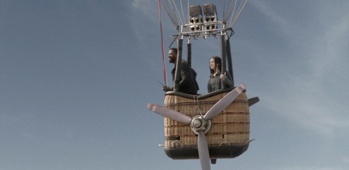 Father Son Holy Gore - Fear the Walking Dead - Augie's Ale Hot Air Balloon