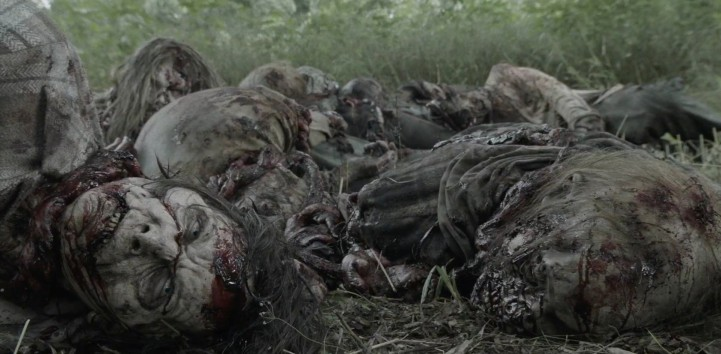 Father Son Holy Gore - Fear the Walking Dead - Pile of Walkers