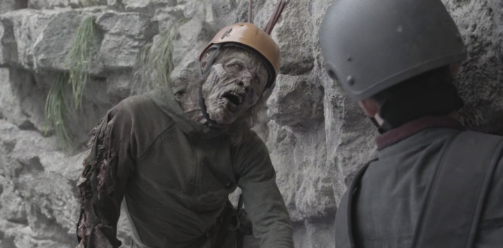 Father Son Holy Gore - Fear the Walking Dead - Zombie Rock Climber