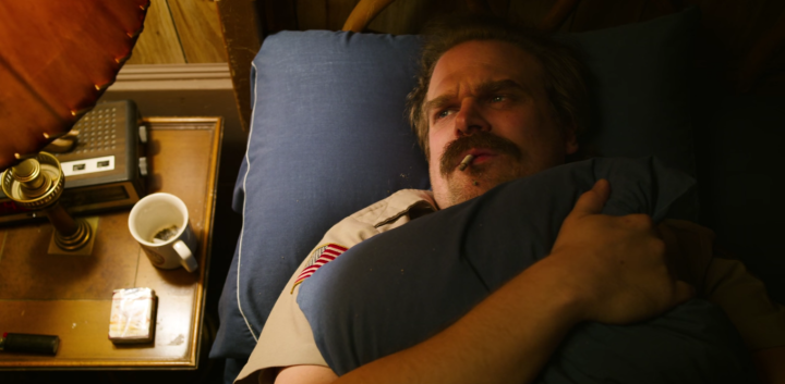 Father Son Holy Gore - Stranger Things - David Harbour as Chief Jim Hopper