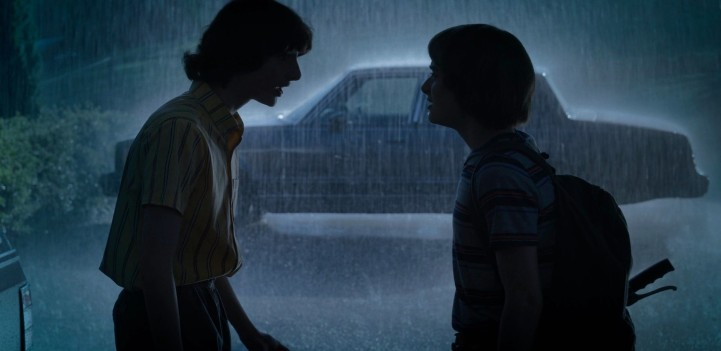 Father Son Holy Gore - Stranger Things - Finn Wolfhard and Noah Schnapp