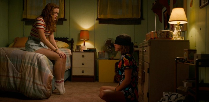 Father Son Holy Gore - Stranger Things - Max and Eleven Hanging Out