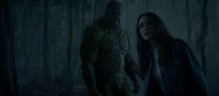 Father Son Holy Gore - Swamp Thing - Swamp Thing and Dr. Abby Arcane
