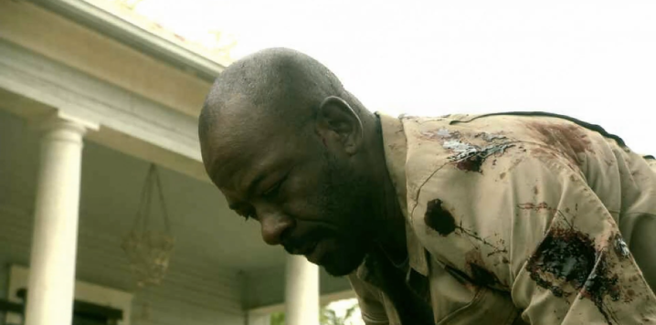 Father Son Holy Gore - Fear the Walking Dead - Morgan Stuck on a Mine