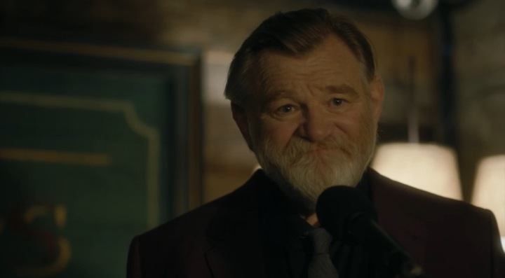 Father Son Holy Gore - Mr. Mercedes - Brendan Gleeson as Bill Hodges