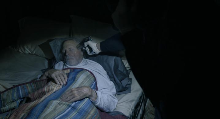 Father Son Holy Gore - Mr. Mercedes - Bruce Dern as John Rothstein