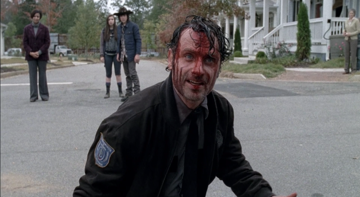 Father Son Holy Gore - The Walking Dead - Angry Constable Grimes