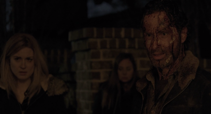 Father Son Holy Gore - The Walking Dead - Rick Kills Pete