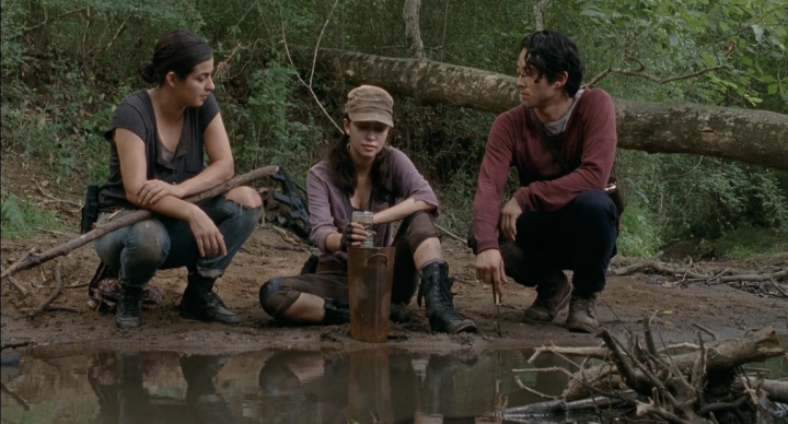 Father Son Holy Gore - The Walking Dead - Rosita, Tara, and Glenn