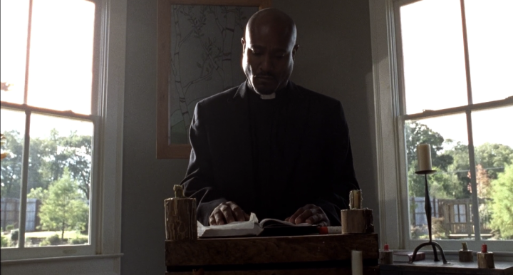 Father Son Holy Gore - The Walking Dead - Seth Gilliam as Father Gabriel Stokes
