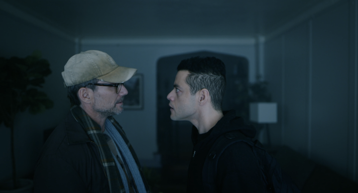 Father Son Holy Gore - Mr. Robot - Dad and Elliot